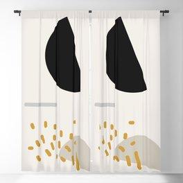 Modern Minimal Abstract Blackout Curtain