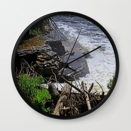 The Edge of Courage Wall Clock