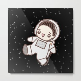 Space Seb Metal Print