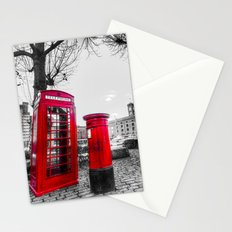 Post Box Phone Box Stationery Cards
