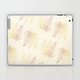 Red Ferns All Over Laptop & iPad Skin