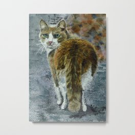 Did you want something? Metal Print