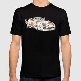 Crazy Car Art 0178 T-shirt