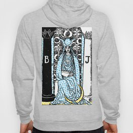 Modern Tarot - 2 The High Priestess Hoody