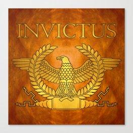 Invictus Golden Eagle on Copper Canvas Print