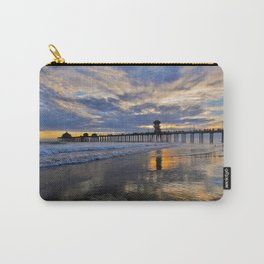 Labor Day 2013 ~ Sunset HB Pier        Carry-All Pouch