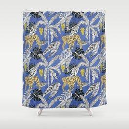 jungle marker pattern Shower Curtain