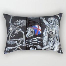 Homo Fugit Velut Umbra Rectangular Pillow