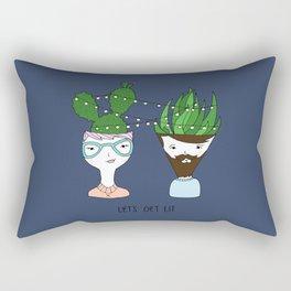 Let's Get Lit Rectangular Pillow