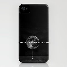 Sleep With Your Eyes Open iPhone (4, 4s) Slim Case