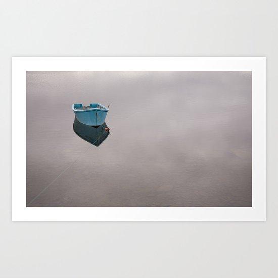 Newfoundland Lake Art Print