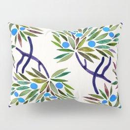 Bonsai Fruit Tree – Blue Palette Pillow Sham