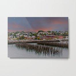 Portland Maine at Dawn Metal Print