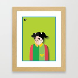 Chilindrina Framed Art Print