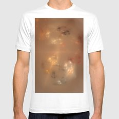 Galaxie @ Christmas Mens Fitted Tee MEDIUM White