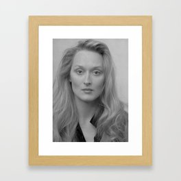 Meryl Framed Art Print