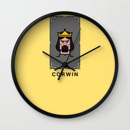 Trumps of Amber - Corwin Wall Clock