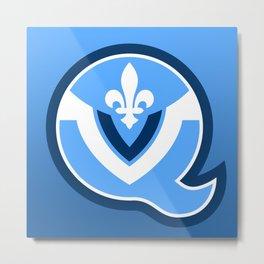 Quebec Voyageurs Metal Print