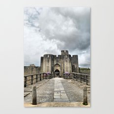 Caerphilly Castle 2 Canvas Print