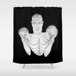 Weight (v2) Shower Curtain