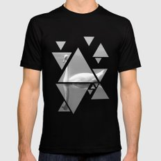 swan Mens Fitted Tee Black SMALL