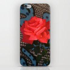 Comic Rose iPhone Skin
