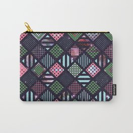 Galaxy Geometric Pattern Carry-All Pouch