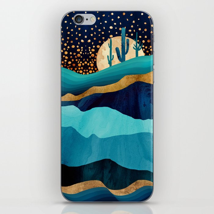 Indigo Desert Night iPhone Skin