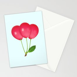 CHERRY BALLOONS Stationery Cards