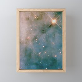 SPARKLING MILKY WAY GALAXY #2 Framed Mini Art Print