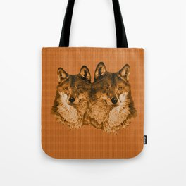 Season of the Wolf - Duet in Gold Tote Bag