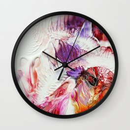 Contrasting Situations Wall Clock
