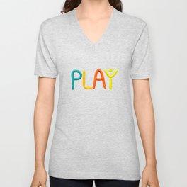 PLAY (Warm) Unisex V-Neck