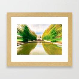 "Reflecting Pools ""Lightspeed"" Effect Framed Art Print"