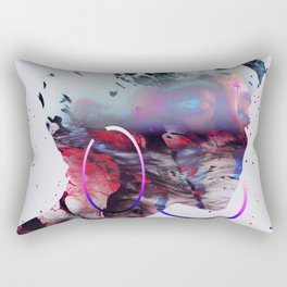 Le regard de Dieu Rectangular Pillow