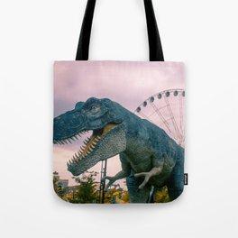 The Modern Dinosaur Tote Bag