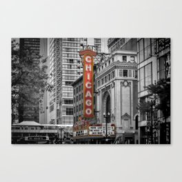CHICAGO State Street Canvas Print