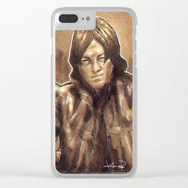 Daryl Dixon Clear iPhone Case