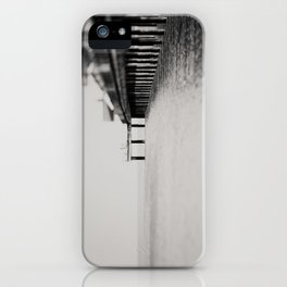 through the blur of her tears ... iPhone Case