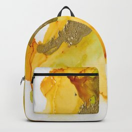 Gold Abstract 1 Backpack