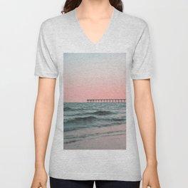 Pink Ocean Unisex V-Neck