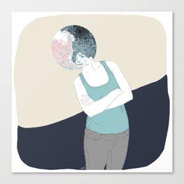 YING-YANG Canvas Print