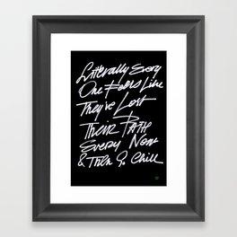 CTFO Framed Art Print