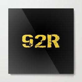 92R Parachute Rigger Metal Print