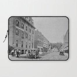 Downtown Ticonderoga Panorama circa 1913 Laptop Sleeve