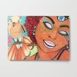 Trinidad & Tobago Color Metal Print