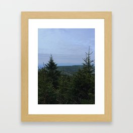 Hunter Mountain Framed Art Print