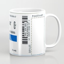 Drug Labels Coffee Mug