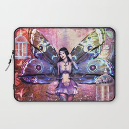Gypsy Moth Laptop Sleeve