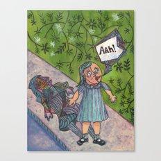Picasso-ized Canvas Print